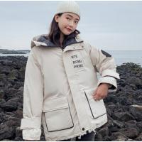 派克服女新款女装棉袄外套冬装连帽面包服冬天女学生衣服韩版加厚休闲服饰